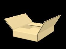 Scatola piatta a croce cod. 16_10737