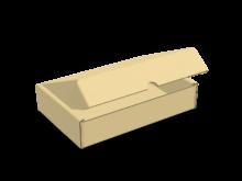 Scatola bauletto automontante piatta cod. 16_C9115