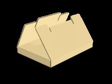 Scatola piatta a croce cod. 16_C9395