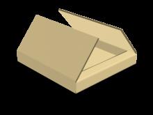 Scatola piatta a croce cod. 16_C9636