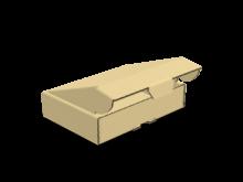 Scatola bauletto automontante piatta COD. 16_10800