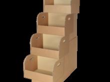 Espositore con quattro vasche grande – COD. 123490