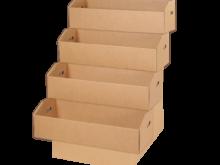 Espositore con quattro vasche piccolo – COD. 123491