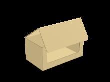 Scatola fondo autoformante con tratteggio – COD. 16_10461