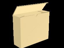 Scatola fondo ad incastro con tratteggio – COD. 16_10504