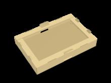 Vassoio con angoli incollati (abbinabile a COD. 16_10589) – COD. 16_10590