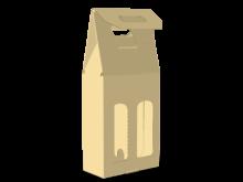 Scatola shopper per due bottiglie COD. 16_11171