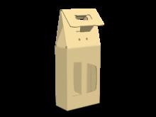 Scatola shopper per due bottiglie COD. 16_11272