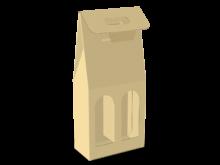 Scatola shopper per due bottiglie COD. 16_C9623