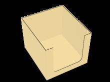 Scatola vassoio fondo autoformante – COD. 16_C9645